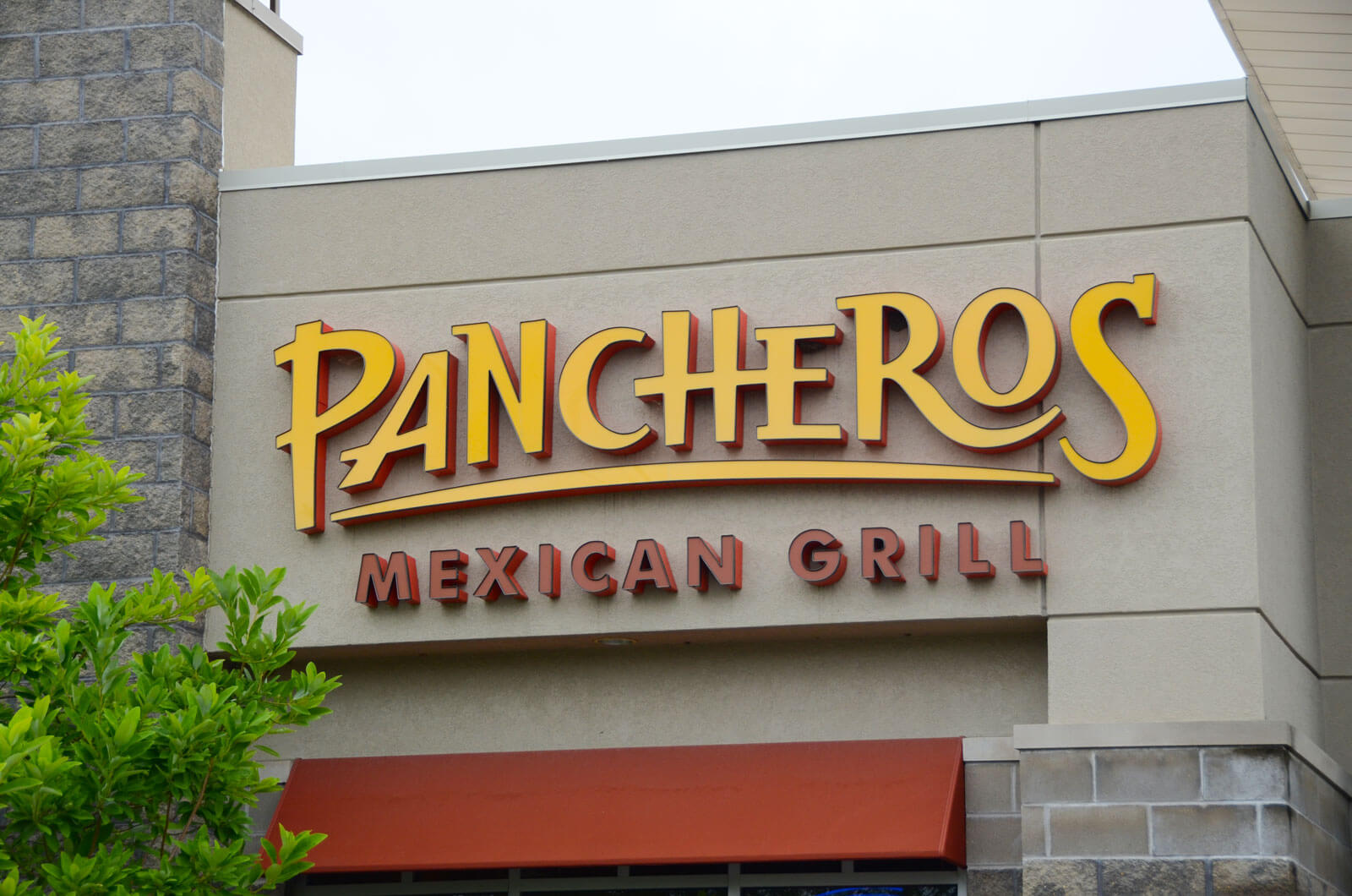 Pancheros Mexican Grill fast-casual franchise sign